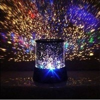 Innoo Tech**LED Night Light Projector Lamp With Amazing Sky Star Scene (With USB Cable) for Babies, Children:Amazon:Home Improvement