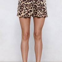 If Looks Could Kill Leopard Shorts