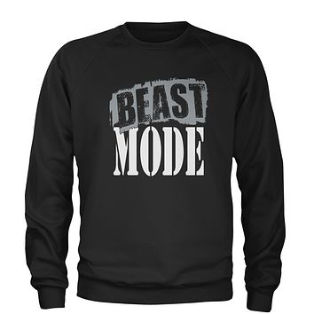 Beast Mode Training Adult Crewneck Sweatshirt