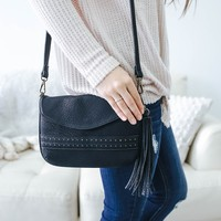 Fanfare Crossbody Bag - Black