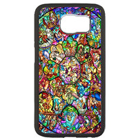 Disney All Characters Stained Glass Samsung Galaxy S6 Case