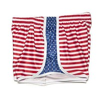 Kappa Alpha Theta Shorts in Red, White and Blue by Krass & Co.