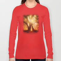 Autumn Song.. Long Sleeve T-shirts by Viviana Gonzalez | Society6