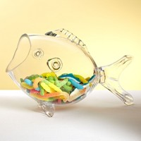 Under the Sea Glass Candy Bowl