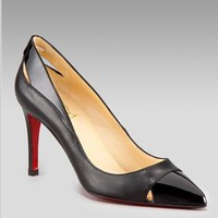 Christian Louboutin Cutout pump - $170.00