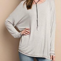 Oversized Comfy Top