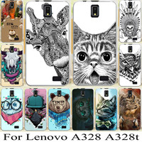 For Lenovo A328 A328T Cellphone Cover Case hard back case best selling Mobile Phone case cute cartoon animal background case