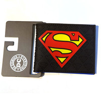 FVIP DC Anime Wallets New Designer Superman Batman Star Wars Wallet Young Boy Girls Purse Small Money Bag
