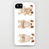 Hear No Evil See No Evil Speak No Evil iPhone & iPod Case by Karl Wilson Photography