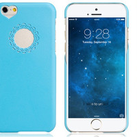 """""""Love"""" Blue Plastic Case for iPhone 6\6s"""