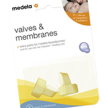 Valves and Membranes - 2 pack