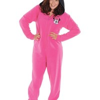 Adult Minnie Mouse One Piece Pajama- Party City