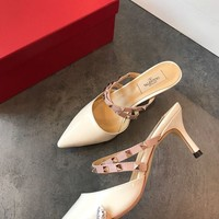 Valentino Women Ankle Strap Pump