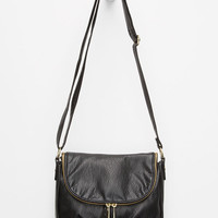 T-Shirt & Jeans Midnight Hour Zip Crossbody Bag Black One Size For Women 26644010001