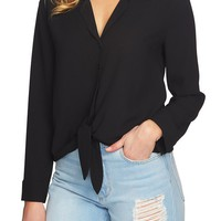 1.STATE Tie Front Blouse | Nordstrom