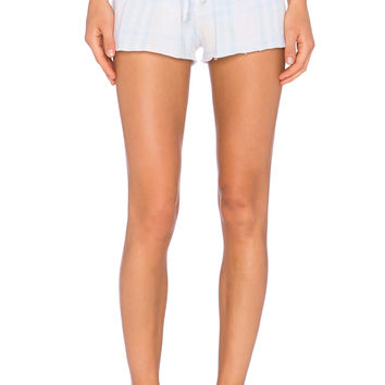 Wildfox Couture Pastel Summer Plaid Short in Multi