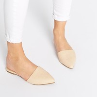 ASOS | ASOS LABORATORY Pointed Mule Ballets at ASOS