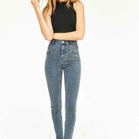 BDG High-Rise Seamed Jean - Ghost