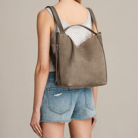 ALLSAINTS US: Womens Cooper Small Backpack (Ash Grey)
