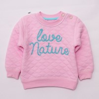 ZBAIYH Autumn winter Boys Sweaters Outwear Baby Girls Clothes Long Sleeve Warm Pullovers lucky child Tops For Moleton Infantis