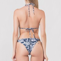 BOAMAR Susy Deep Blue Leaves Bottom