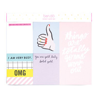 sticky note set - thumbs up