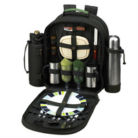 Eco Collection Coffee Picnic Backpack for 2