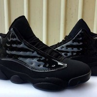 DCCK AIR JORDAN 13 RETRO BLACK