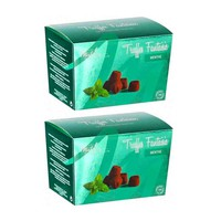 Free Shipping   2 Pack French Chocolate Truffle with Mint Crystals by Mathez, 8.8 oz