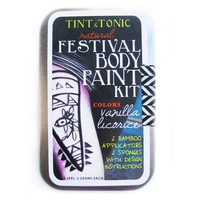 NATURAL FESTIVAL BODY PAINT KIT
