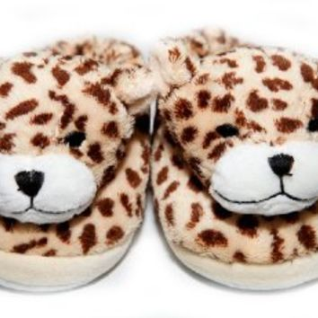The Babymio Collection Slippers, ChiChi the Cheetah, 24 Months
