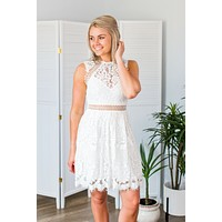 Mimosa Mornings Dress- White