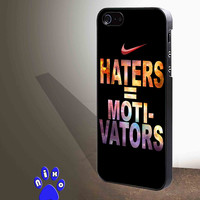 Nike Haters Motivation Custom for iphone 4/4s/5/5s/5c/6/6+, Samsung S3/S4/S5/S6, iPad 2/3/4/Air/Mini, iPod 4/5, Samsung Note 3/4 Case **