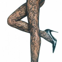 Tights Lace Floral Pantyhose