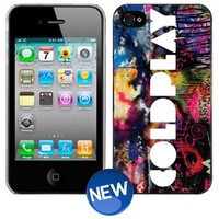 COLDPLAY iPhone 4 4s Plastic Hard Phone Cover Case