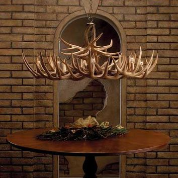"""""""The Appalachian"""" Whitetail Antler Chandelier"""