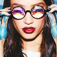 """Kaleidoscope """"Trippy"""" Glasses - High Quality - EDM Rave Outfit & Party Accessories"""