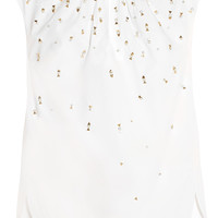 J.Crew - Collection Khalo embellished cotton-poplin top