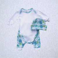 Boy's Print Bodyshirt and Pant