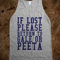 If Lost (Hunger Games)