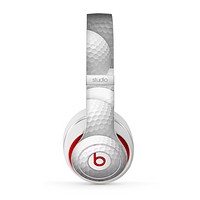 The Golf Ball Overlay Skin for the Beats by Dre Studio (2013+ Version) Headphones