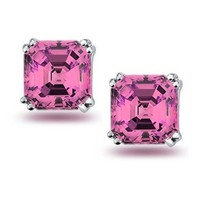 Bling Jewelry Perfectly Pink Studs