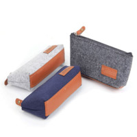 Big Capacity Pen Bags Vintage Simple Design Stationary [11649194831]