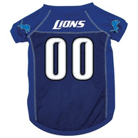 Detroit Lions Deluxe Dog Jersey - Large