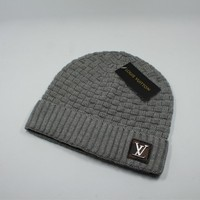 Lv Knitted Hat 5 Colors 1018# - Best Online Sale