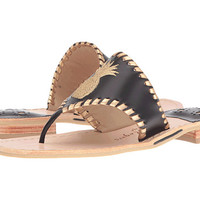 Jack Rogers Pineapple Black/Gold - Zappos.com Free Shipping BOTH Ways
