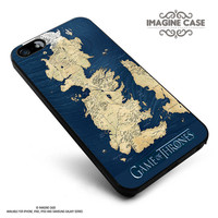 Game Of Thrones Map case cover for iphone, ipod, ipad and galaxy series