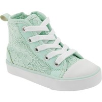 Old Navy Lace Overlay High Tops For Baby