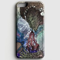 Trippy Psychedelic Space Galaxy iPhone 8 Case