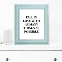 Inspirational Print, Wall Decor, Typography Wall Art, Motivational Print, Inspirational Poster, Teen Gift Ideas, Home Decor - PT0015